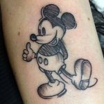 Mickey Maus Tattoo