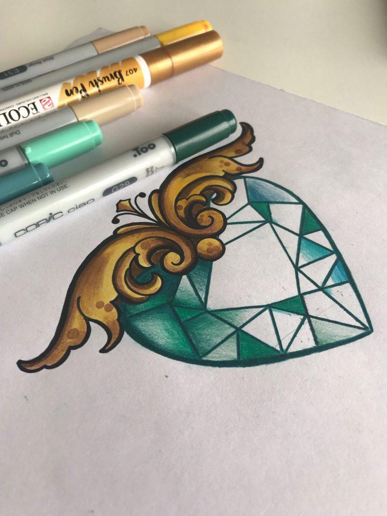 Tattoo Herz Vorlage