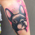 Hund Tattoo